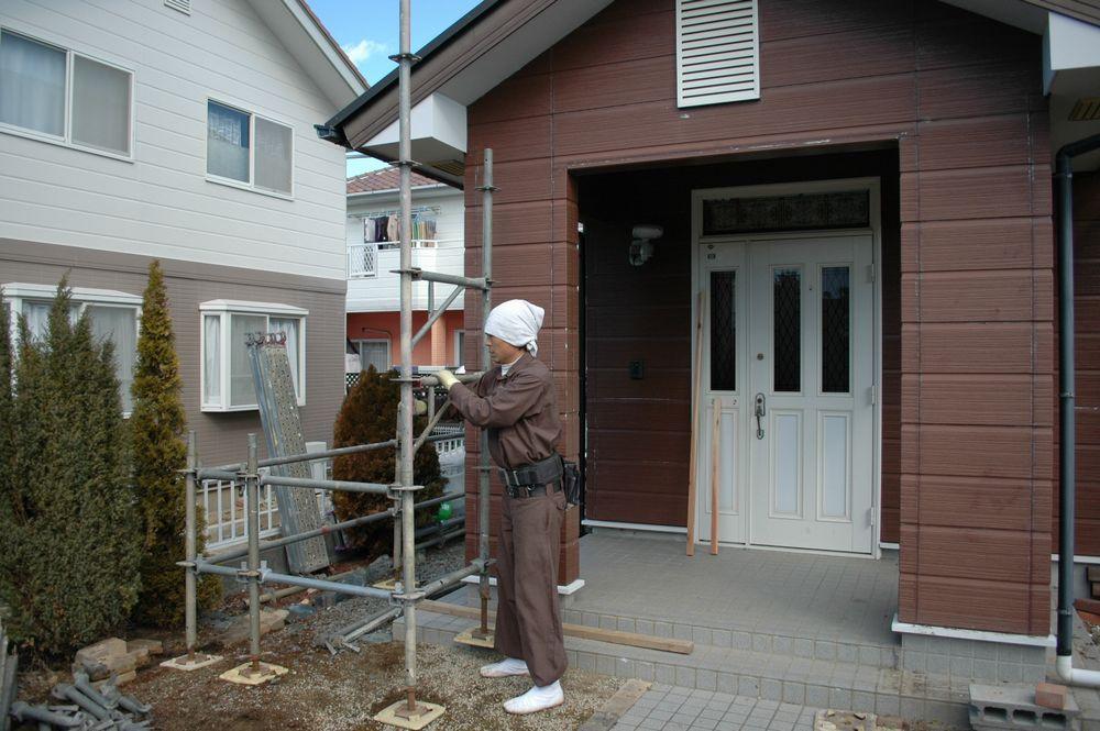 外壁 塗装 ガス ファン ヒーター